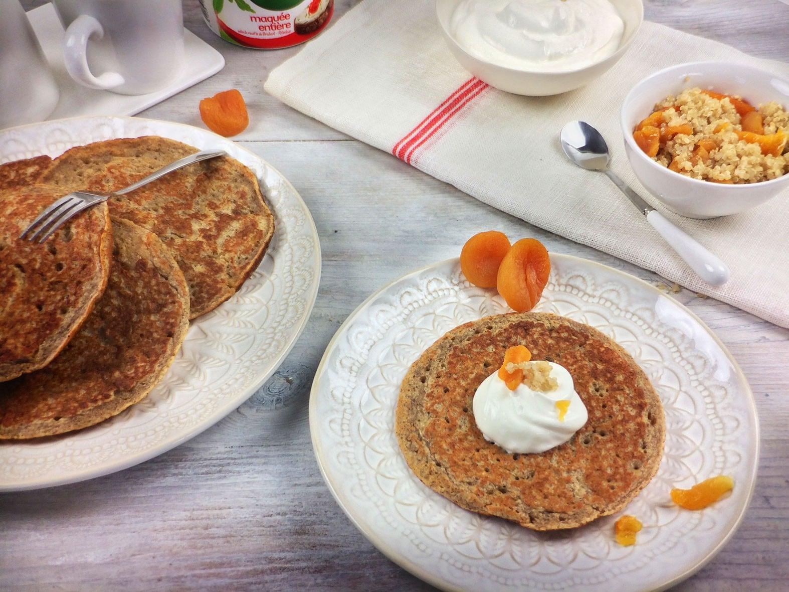 The real Campina-Fitness-quinoa pannenkoeken