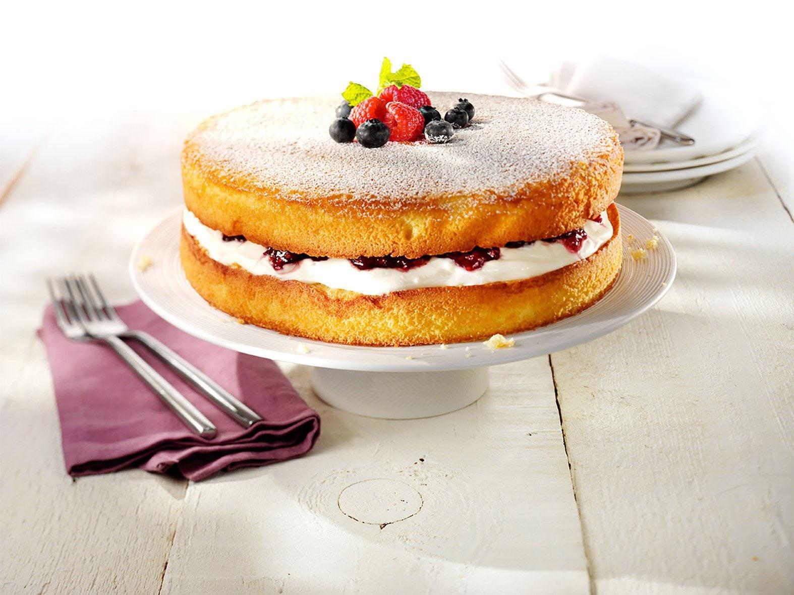 Gevulde cake