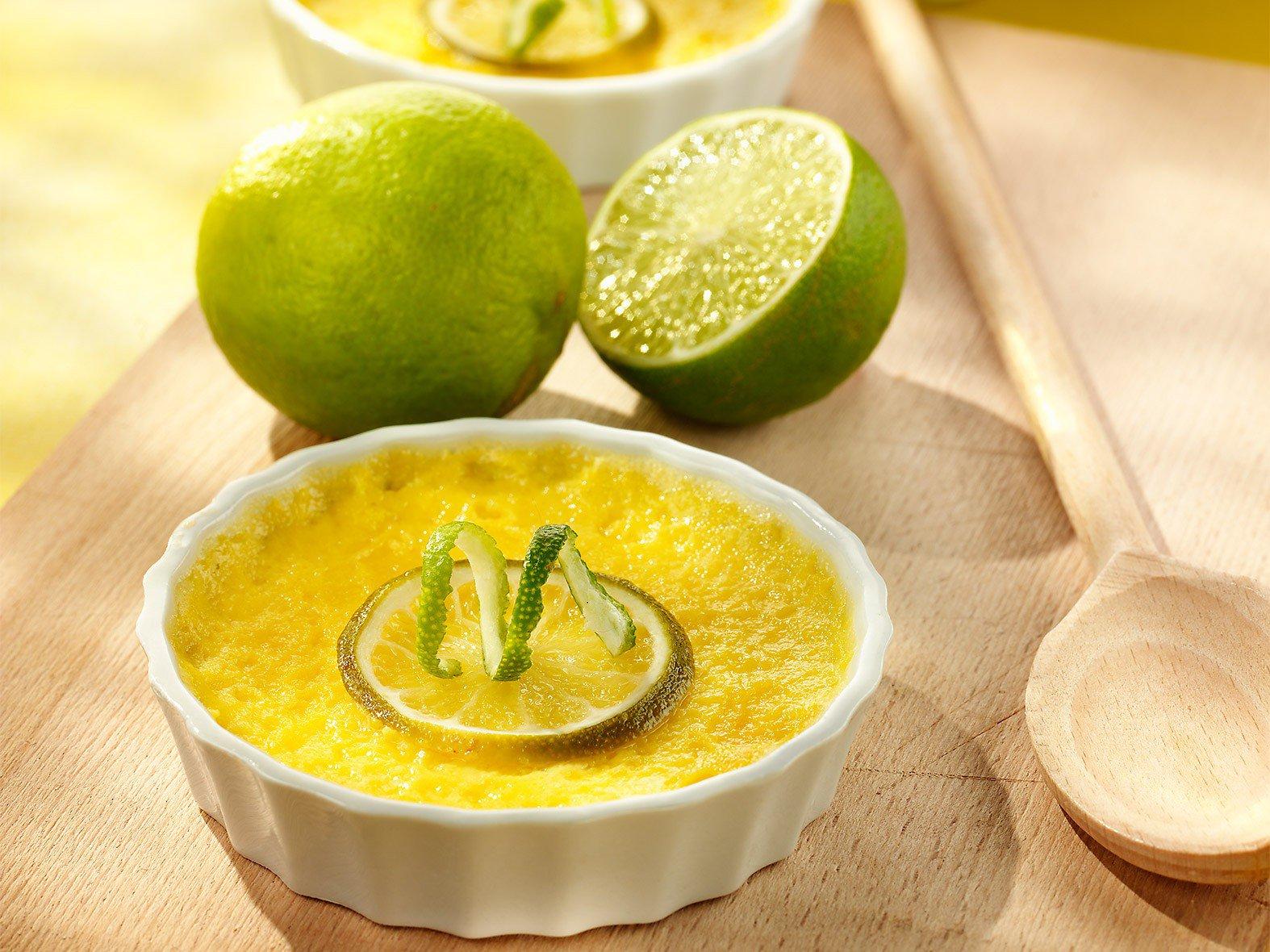 Limoen Pudding