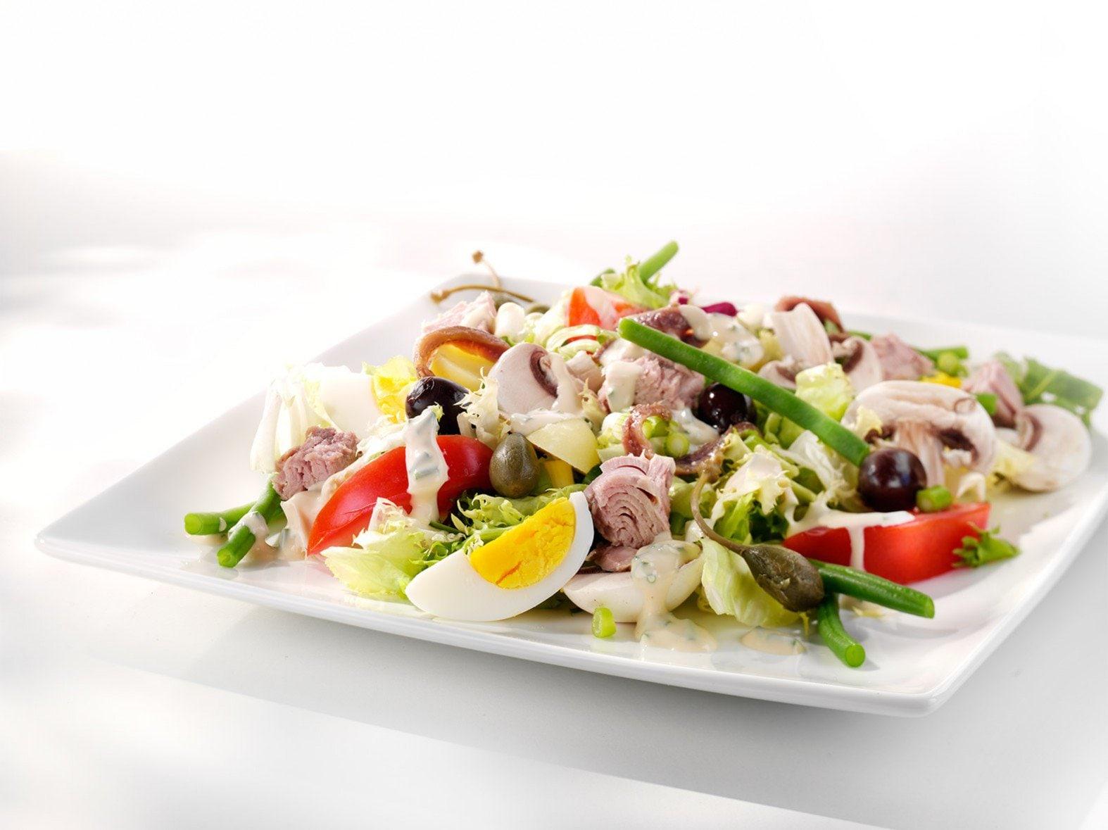 Meesterlijke salade niçoise