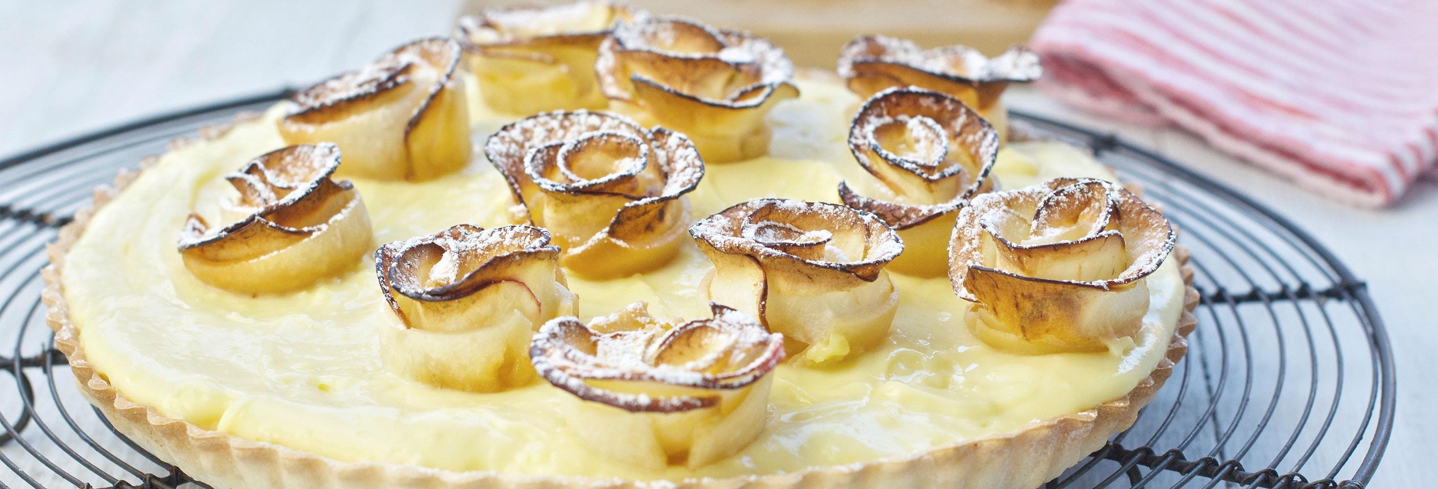 Lactosevrije appeltaart