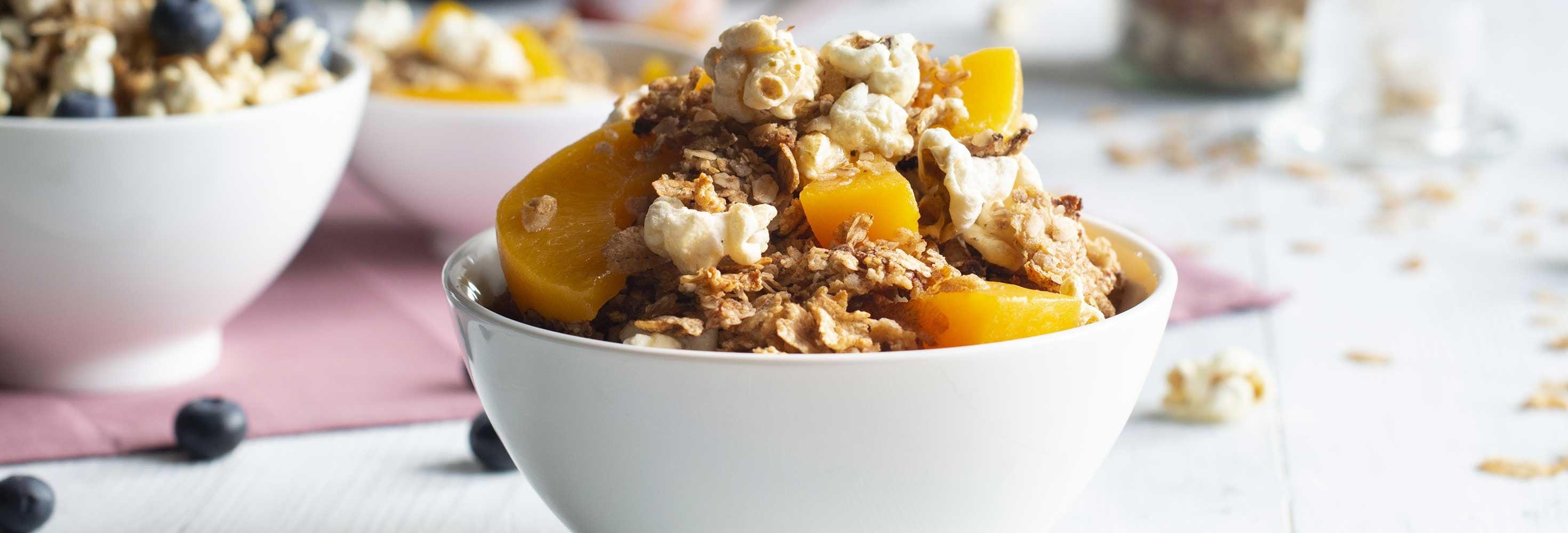 Yoghurtbowl met fruit & granola
