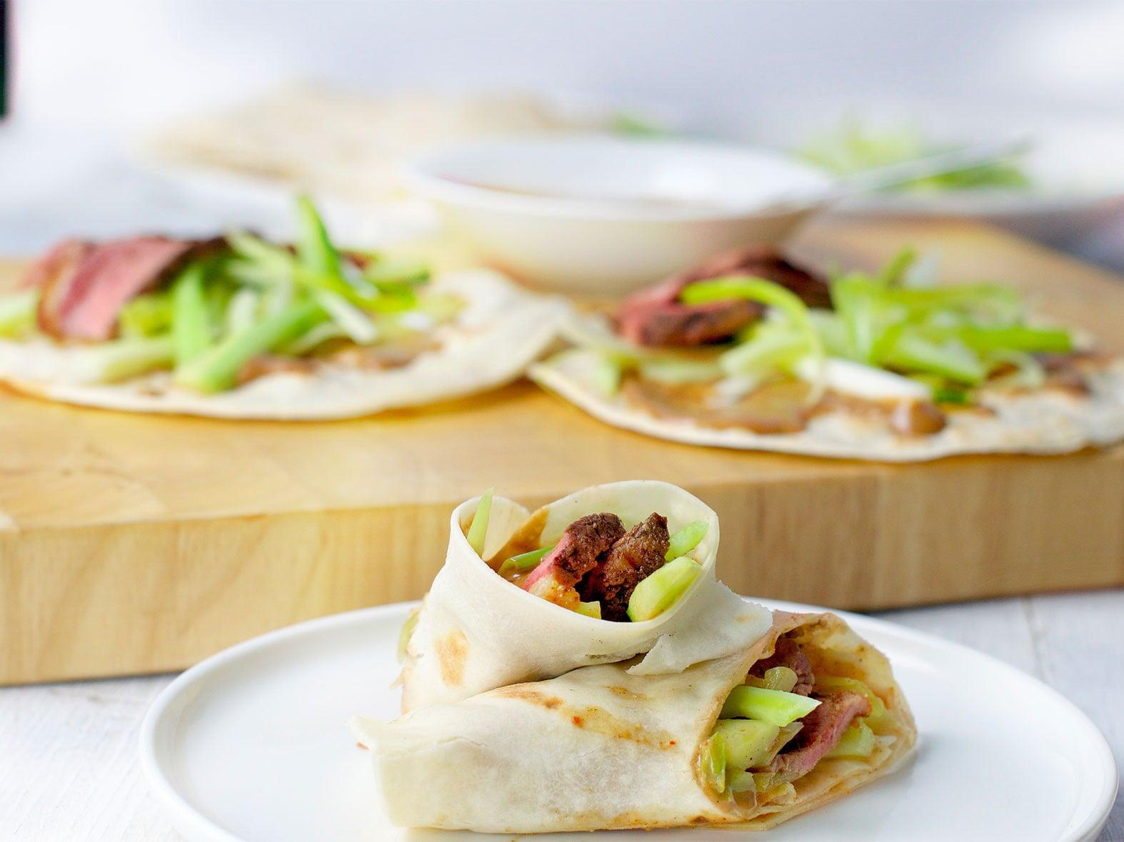Lactosevrije tortilla wrap